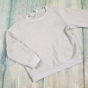UNIQLO long sleeves crew neck sweatshirt top